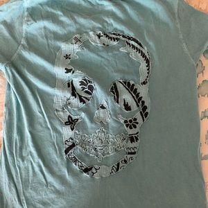 Zadig abs Voltaire skull tee shirt